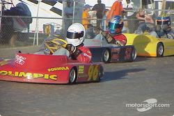 Briggs Junior 96-Chris Howard 52-AJ Miller