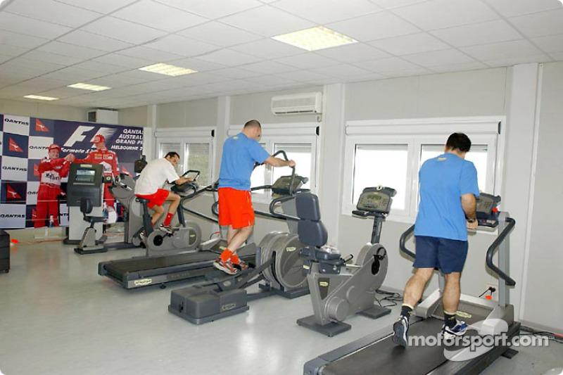 Ferrari's new gym