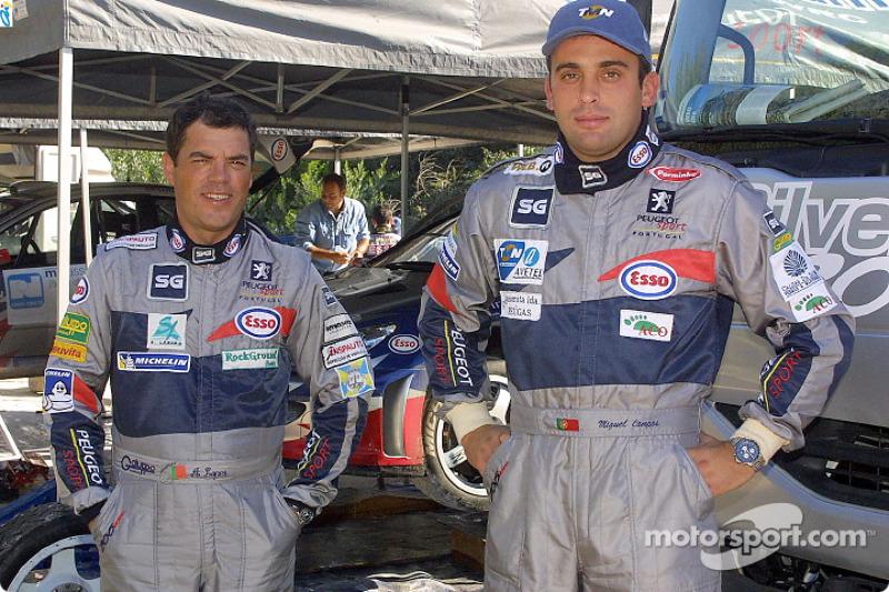 Adruzilo Lopes and Miguel Campos