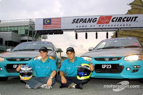 Team Sauber in Maleisië