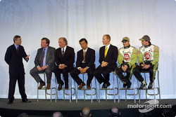 Interview avec David Richards, Toru Ogawa, Malcolm Oastler, Jacques Villeneuve et Olivier Panis