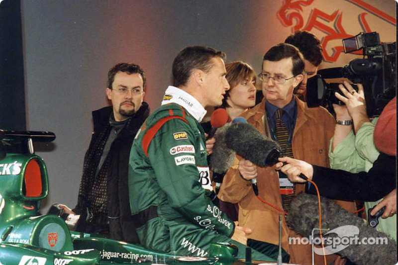 Interview for Eddie Irvine