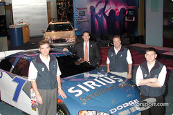 Presentation of the Evernham Motorsports/Ultra Motorsports/Sirius Satellite Radio No. 7 Winston Cup car of Casey Atwood