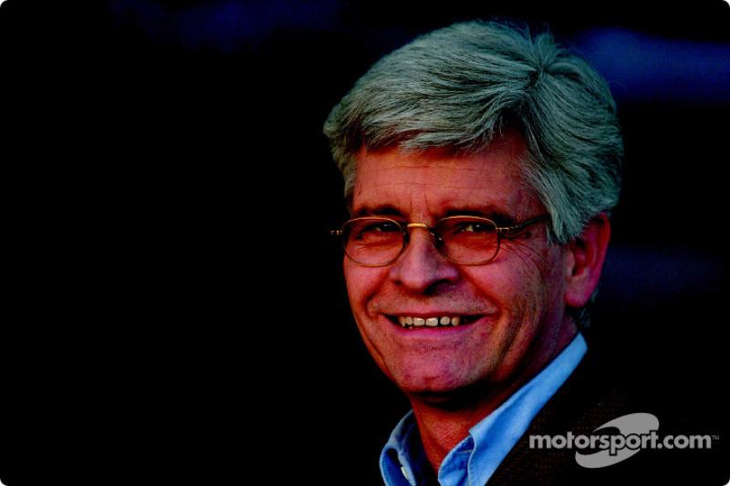 Steve Nichols, directeur technique de Jaguar Racing