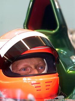 Нікі Лауда, Jaguar R2 Cosworth