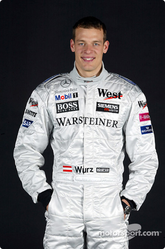 Test driver Alexander Wurz