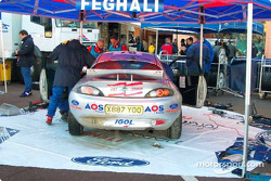 Roger Feghali finished third in the new World Junior Rally Championship in a Ford Puma
