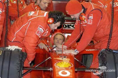 Test à Valence en janvier 2002