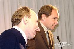 Frank Williams y Gerhard Berger