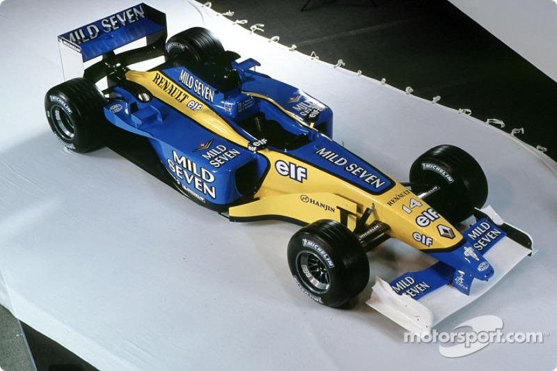 2002 - Renault F1 R202