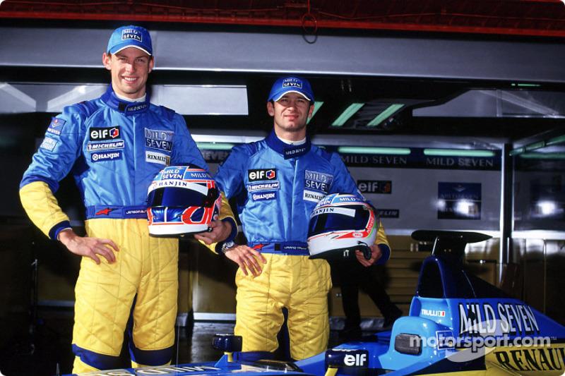Jenson Button et Jarno Trulli