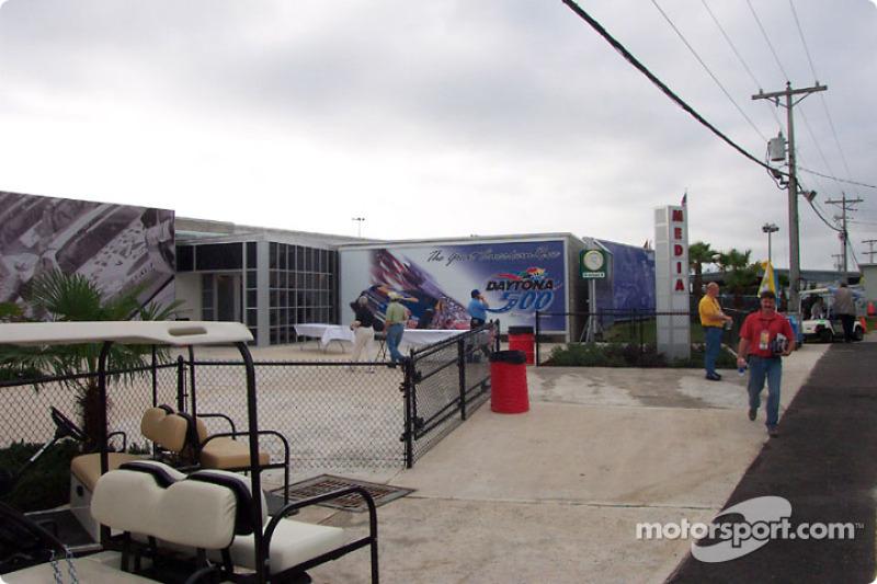 Nouveau centre médias sur le Daytona International Speedway