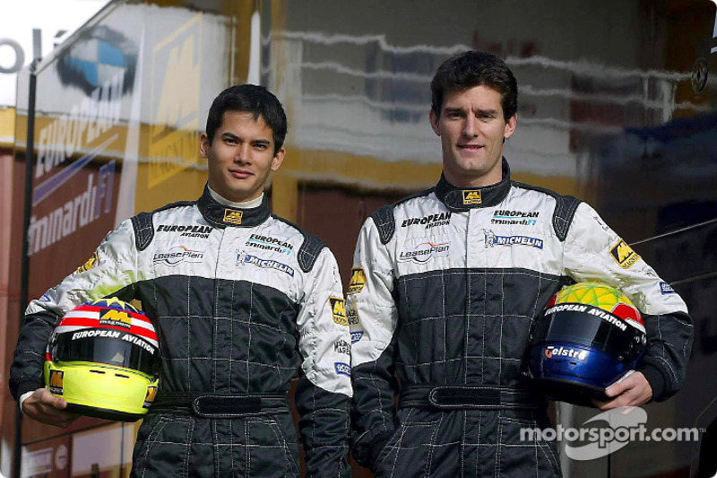 Alex Yoong et Mark Webber