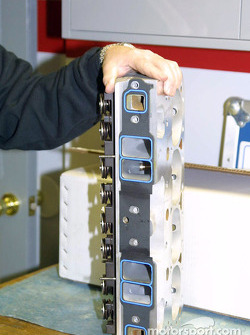 Aluminium cylinder head