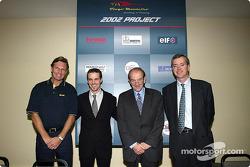Présentation de la Super Nova Renault Junior Team avec Tiago Monteiro et Christian Contzen