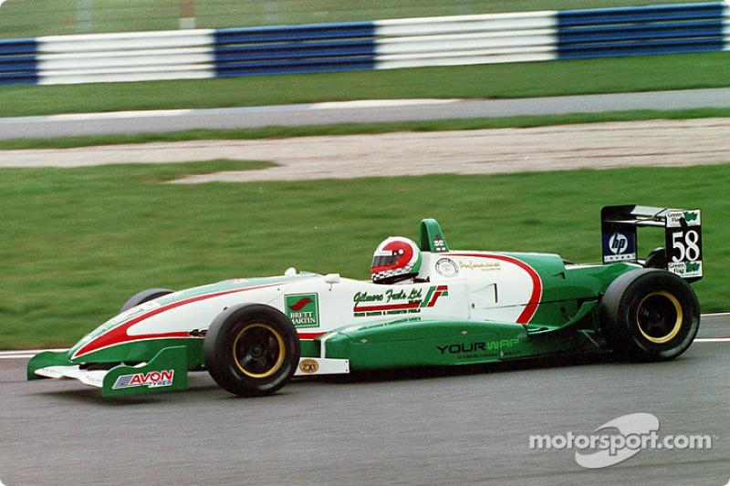 58. Matthew Gilmore, Performance Racing SC