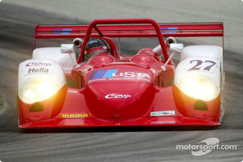 Didier Theys a signé le meilleur temps de la journée avec la Dallara-Judd n°27