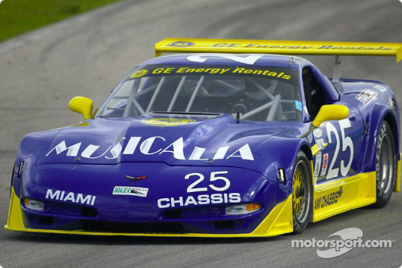 Corvette n°25 du Diman Racing Systems
