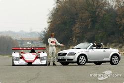 Infineon Audi R8 (2002 version) presentation: Infineon Audi R8 (2002 version), Frank Biela, Audi TT Roadster