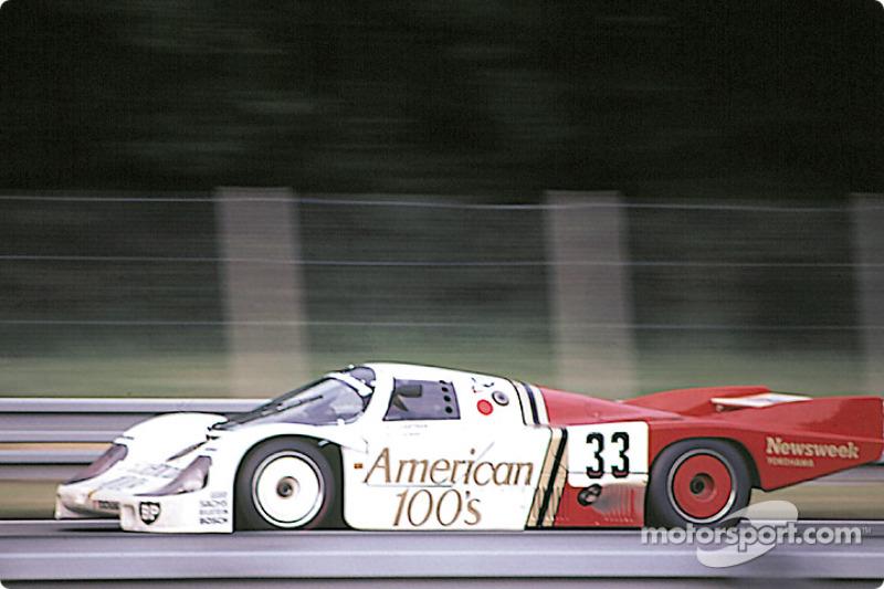#33 Fitzpatrick Porsche Team Porsche 956: David Hobbs, Jo Gartner, Guy Edwards