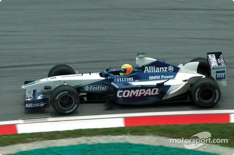 2002 : Ralf Schumacher, Williams-BMW FW24