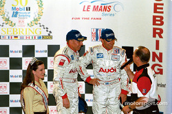 Second place team of Andy Wallace and Stefan Johansson