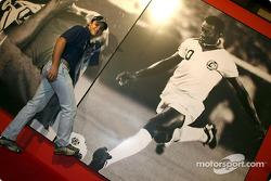 Visita a la Exhibición de Pelé en Sao Paulo: Felipe Massa