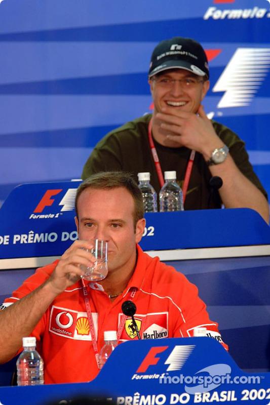 Conférence de presse du jeudi : Rubens Barrichello et Ralf Schumacher