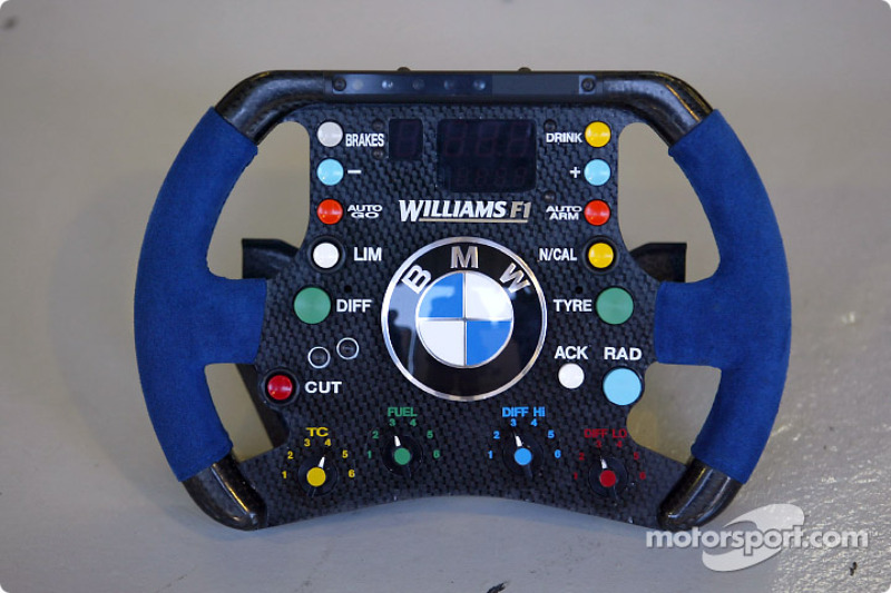 Volante del Williams F1