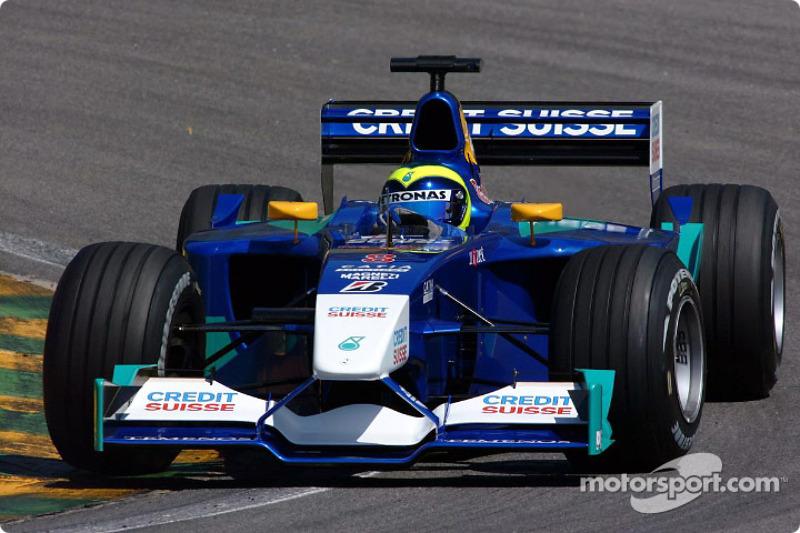 2002: a chegada à F1