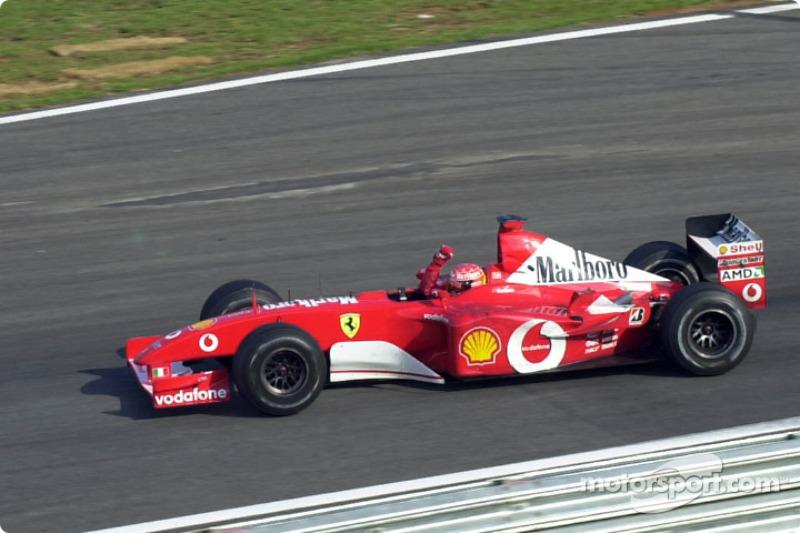 Vuelta del triunfo para Michael Schumacher
