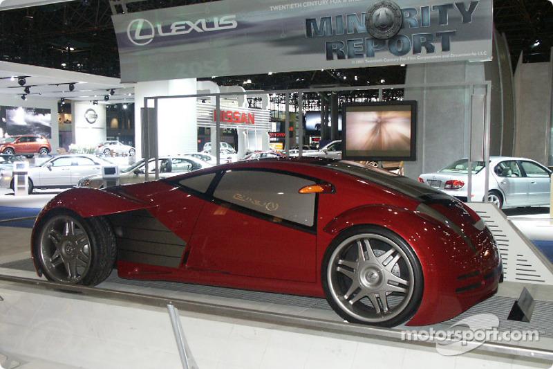 Lexus Concept From Movie Minority Report At New York International