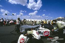 Team BAR on the grid