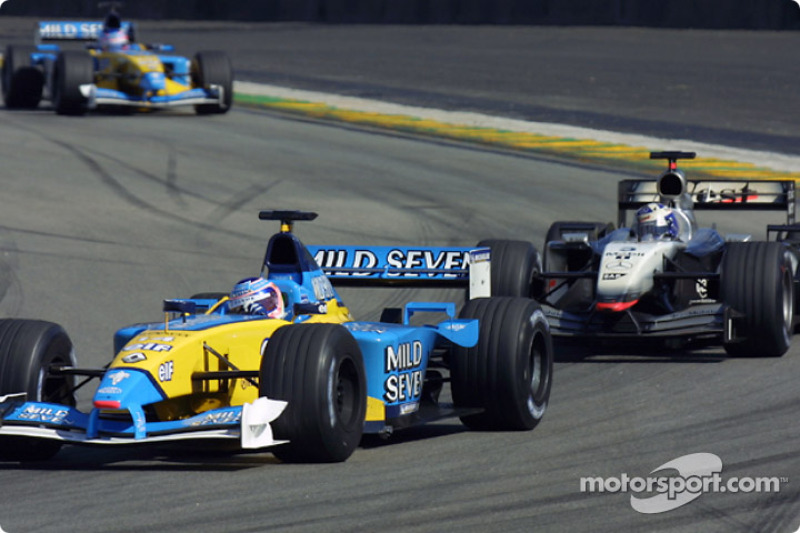 Jarno Trulli y David Coulthard