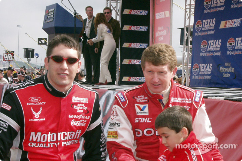 Elliott Sadler y Bill Elliott