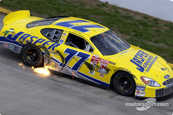 Dave Blaney spits out flames