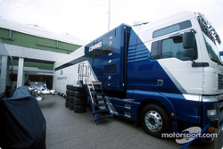 Williams-BMW transporter