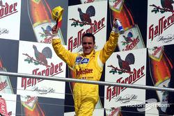 Race winner Laurent Aiello