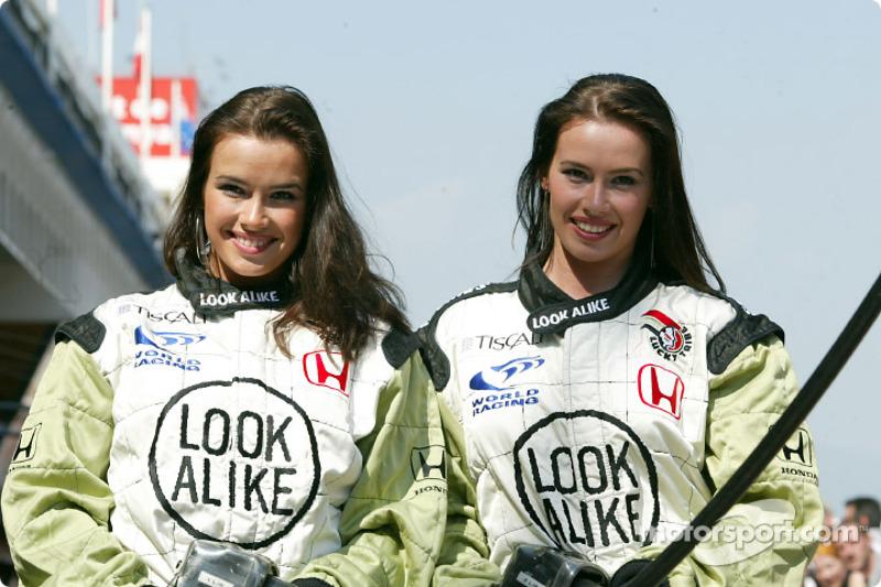 The 'Look Alike' girls