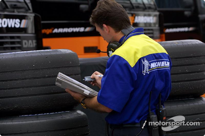 Michelin crew member