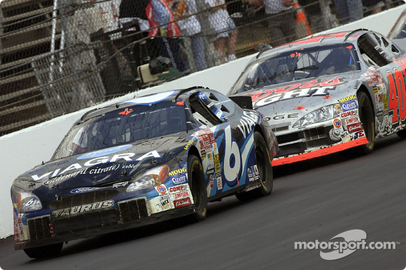 Mark Martin and Sterling Marlin