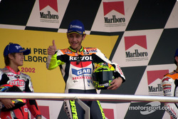 Rossi gives his crew the