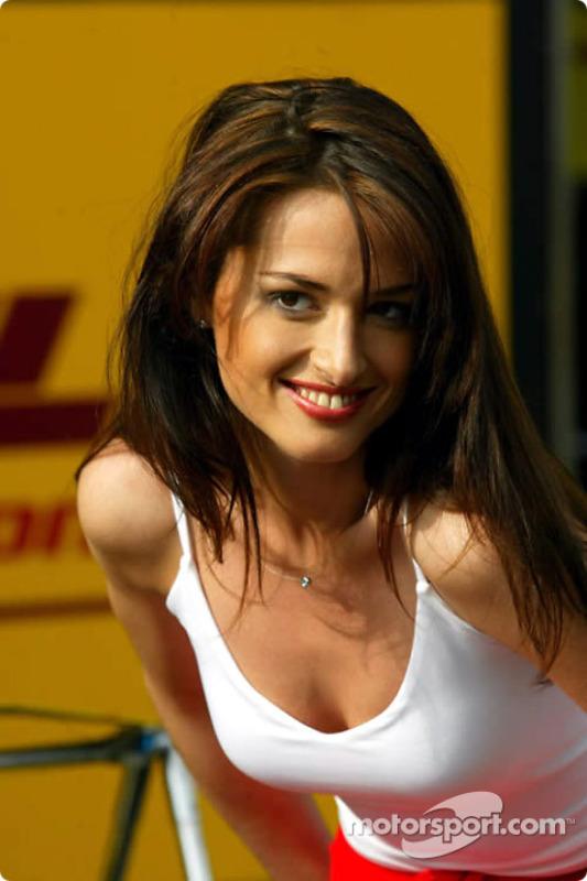 Chica del Gran Premio de Austria