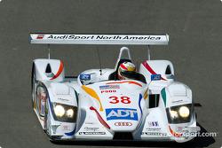 Tom Kristensen in the ADT Champion Audi R8 #38