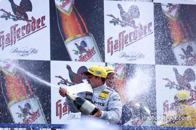 Champagne for Jean Alesi