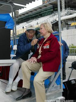 Jim Philippe et Janet Guthrie