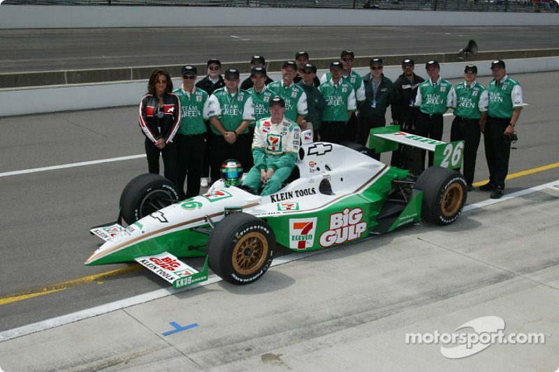 Paul Tracy and team