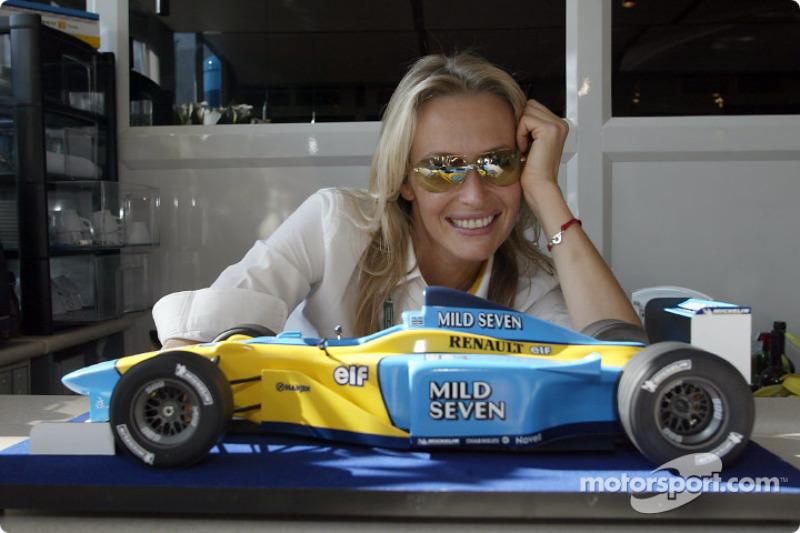 Área de hospitality de Renault F1