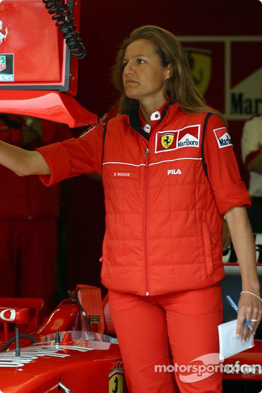 Ferrari crew member