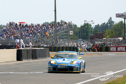 Last lap for The Racer's Group Porsche 911 GT3-RS